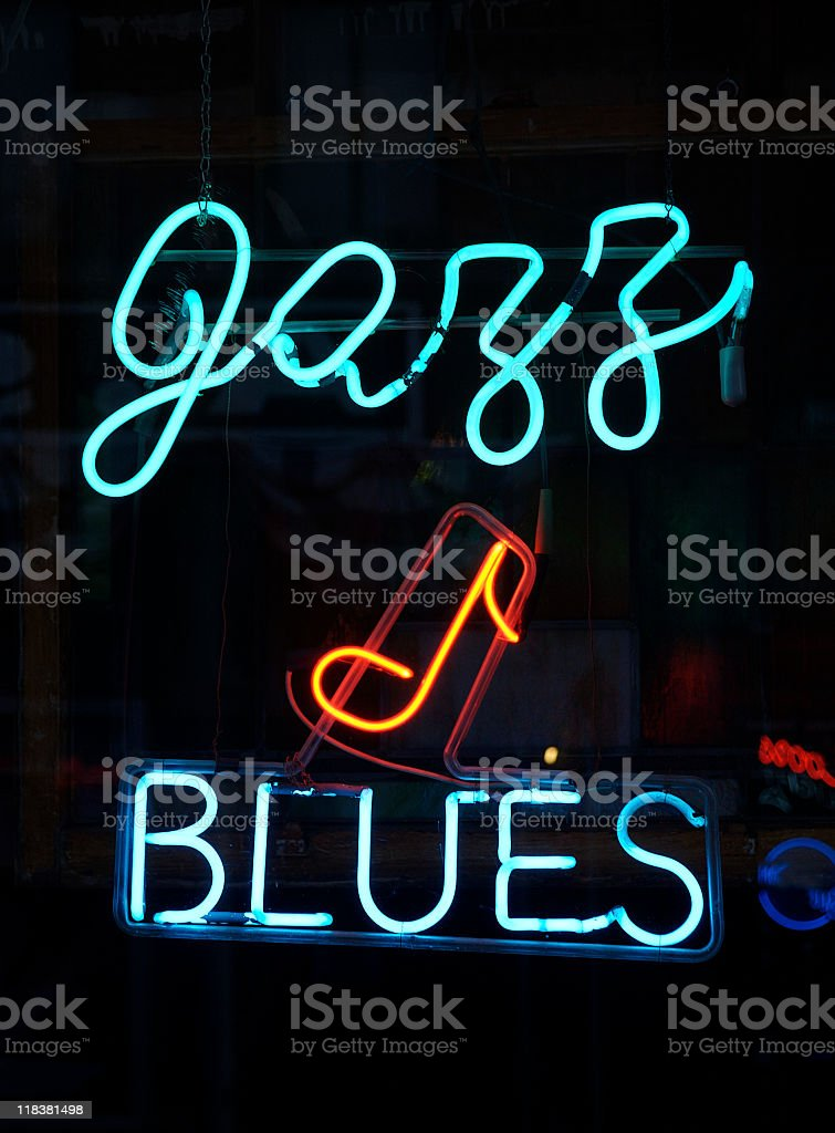 Jazz and Blues stock photo