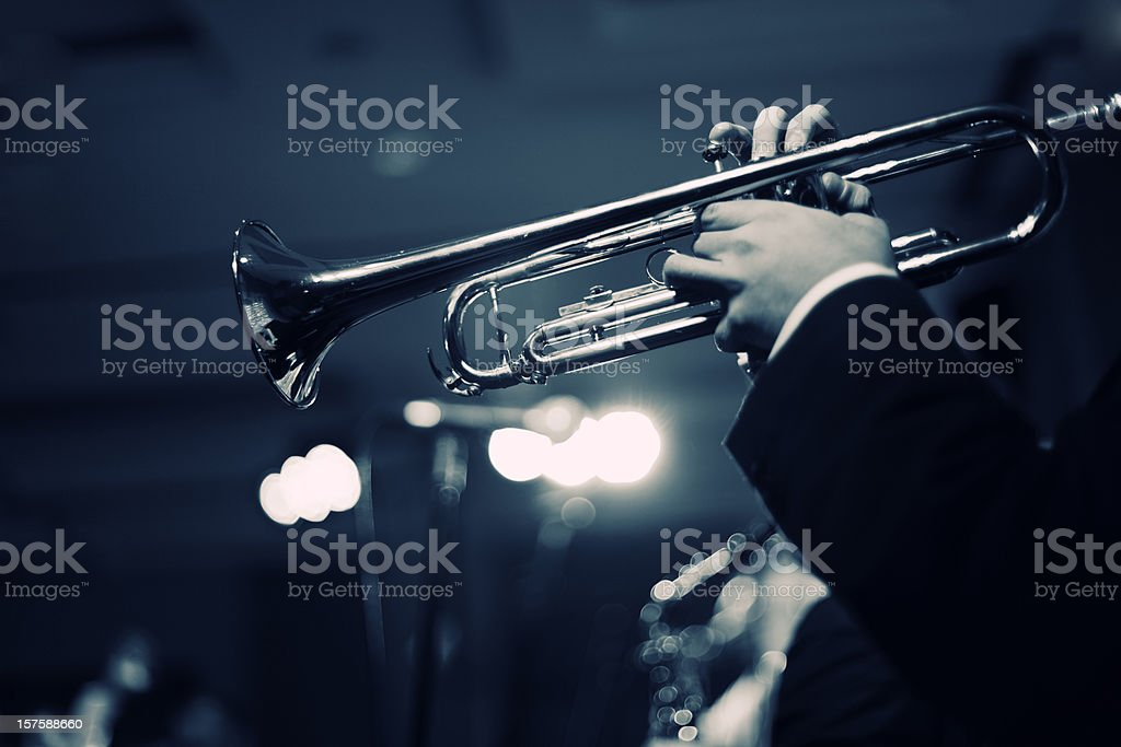Jazz Club stock photo