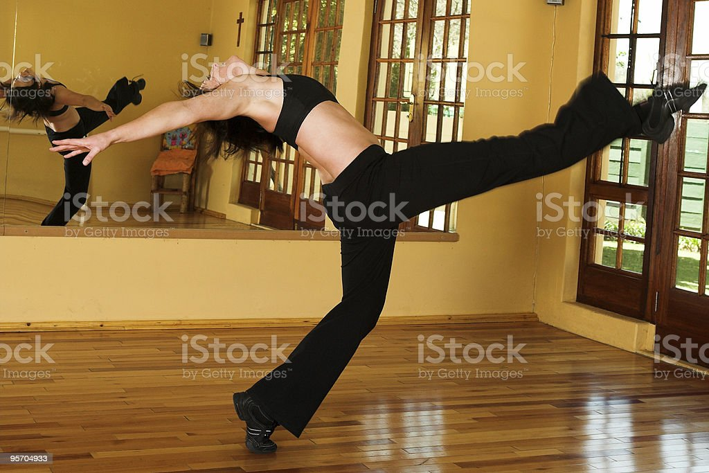 Jazz Dancer stock photo