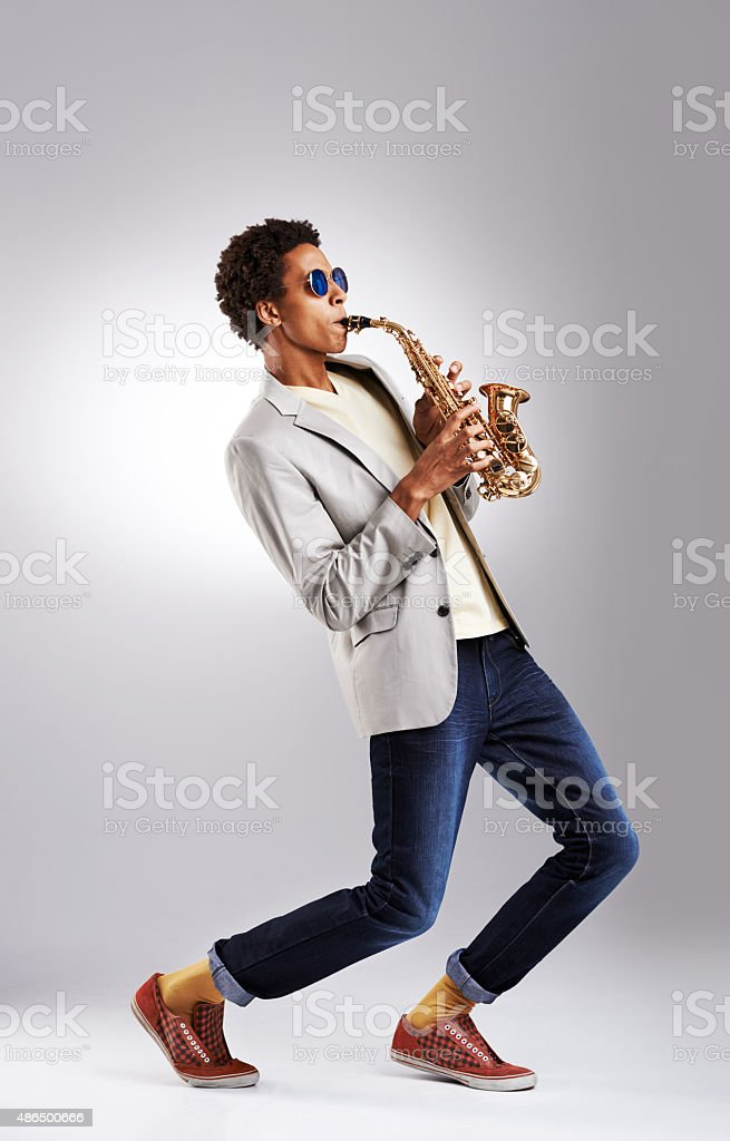 Jazz it up a little stock photo