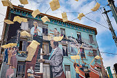 Jazz mural in San Francisco