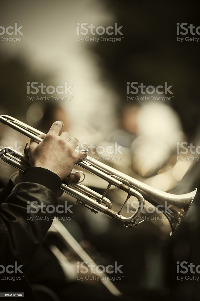 Jazz on the street stock photo