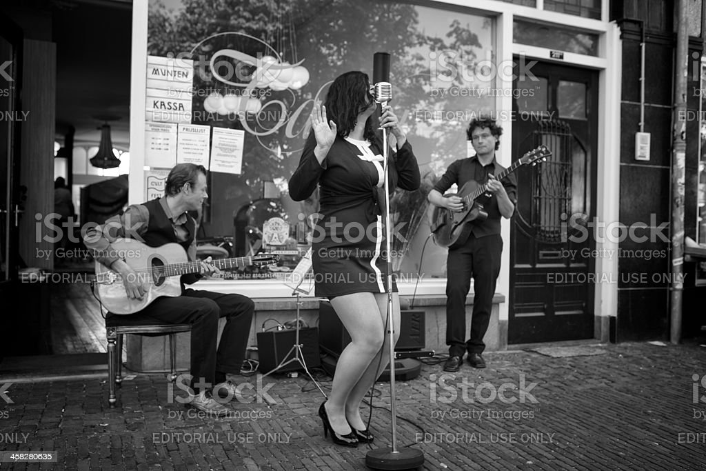 jazz on the street royalty-free stock photo