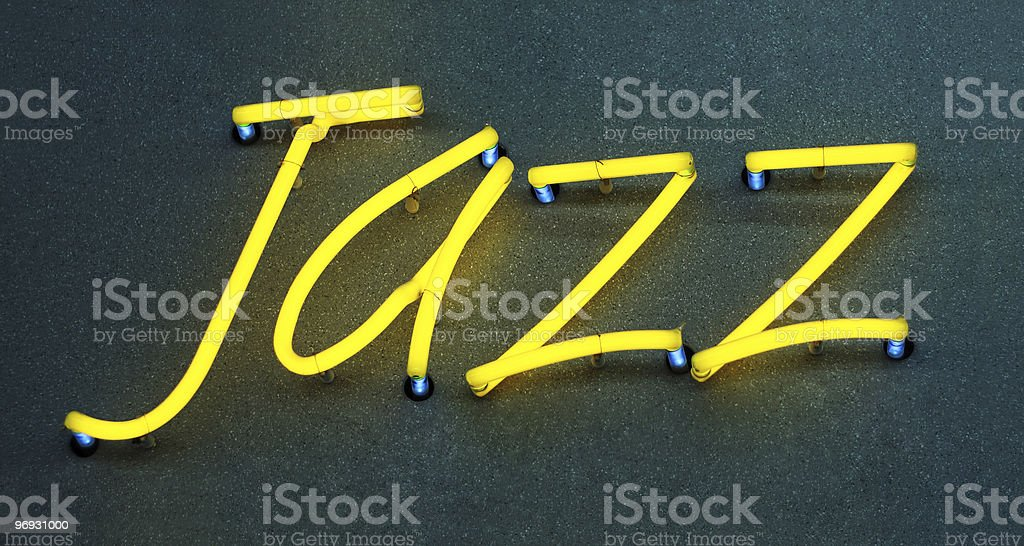 Jazz royalty-free stock photo