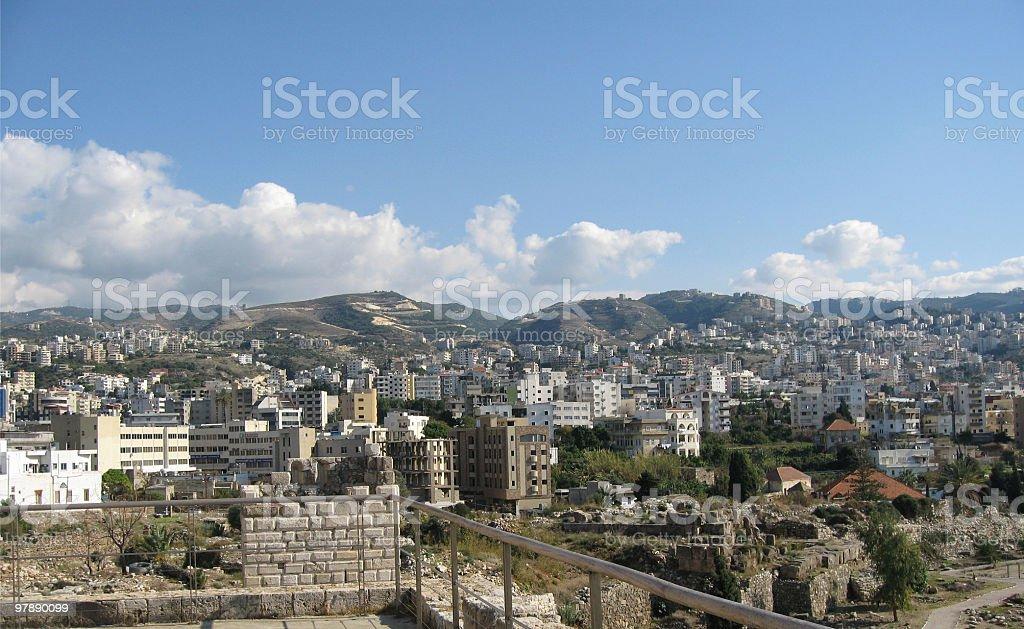 Jbeil, Lebanon royalty-free stock photo