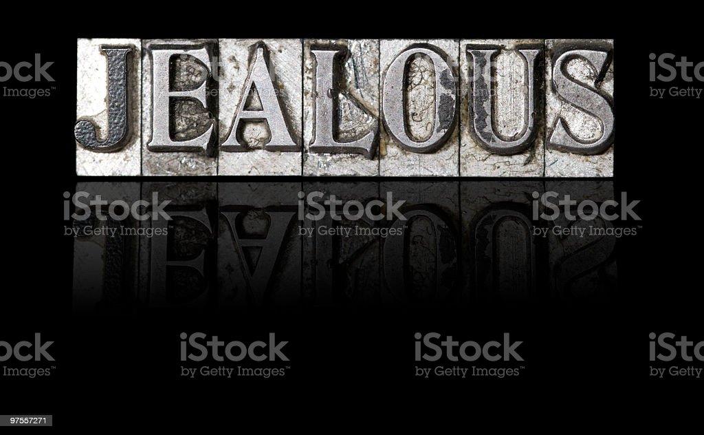 Jaloux photo libre de droits