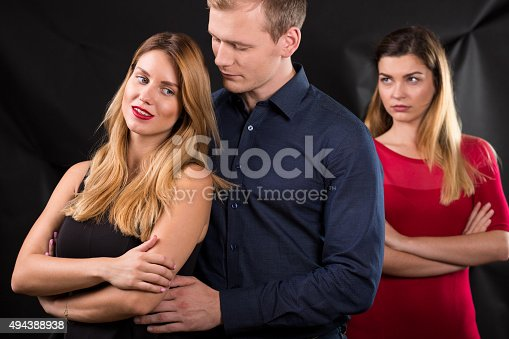 istock Jealousy in the relationship 494388938