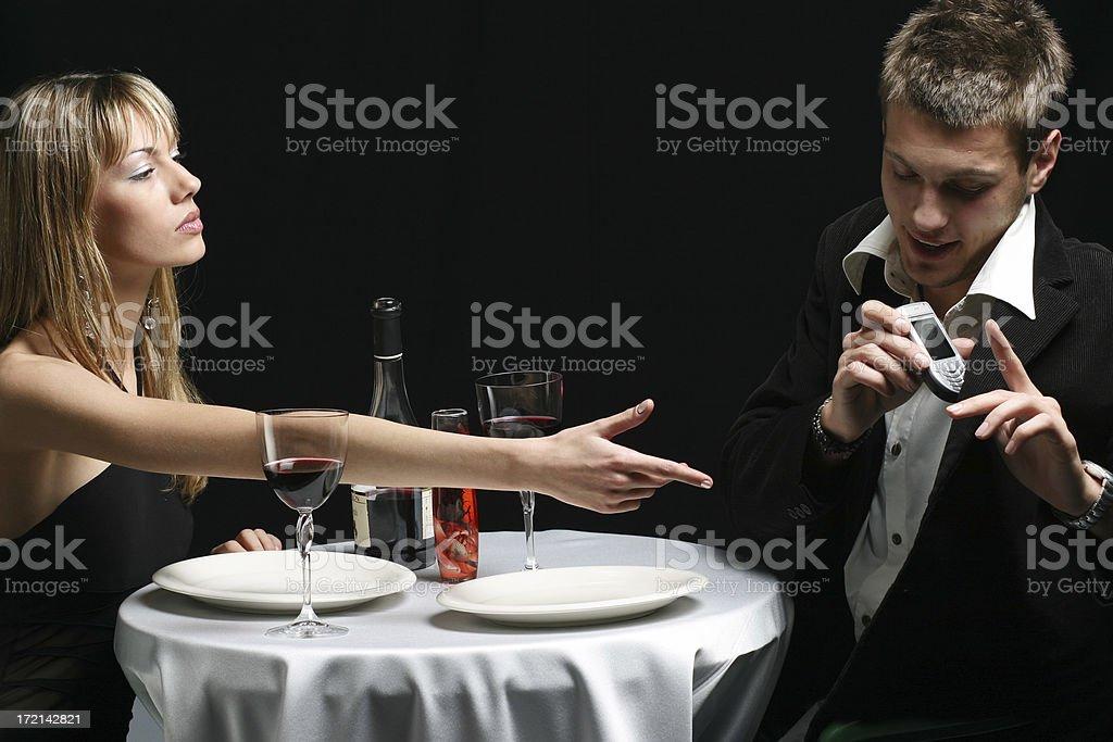 Jealousy royalty-free stock photo