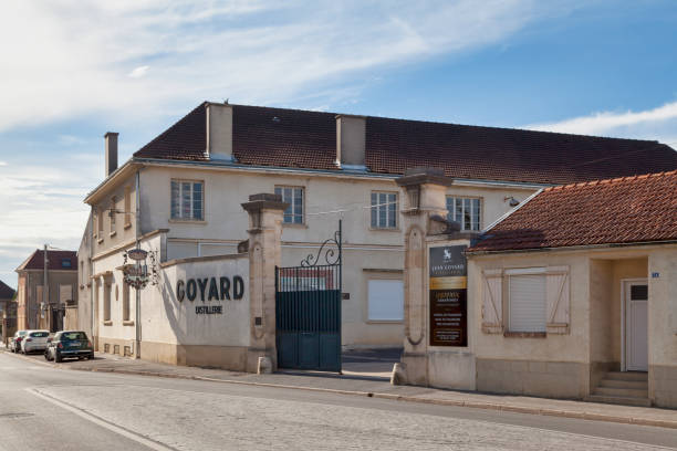 Jean Goyard Distillery in A stock photo