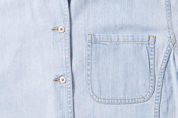 jean shirt stok fotoğrafı