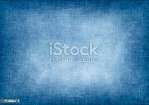 Blue vintage jeans background
