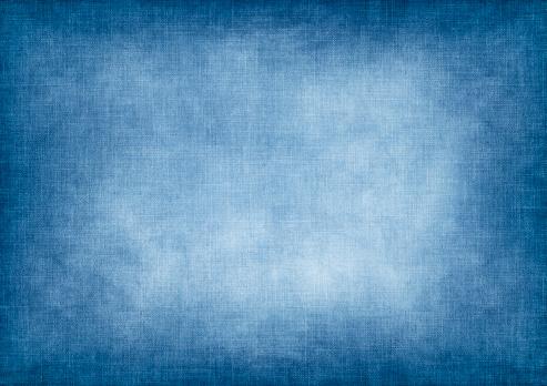 Blue vintage jeans background