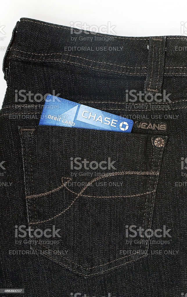 DKNY Jeans & Chase stock photo