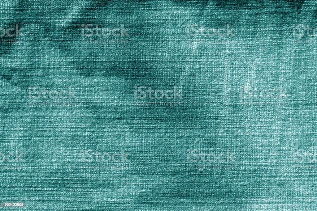 Jeans cloth pattern in cyan color zbiór zdjęć royalty-free