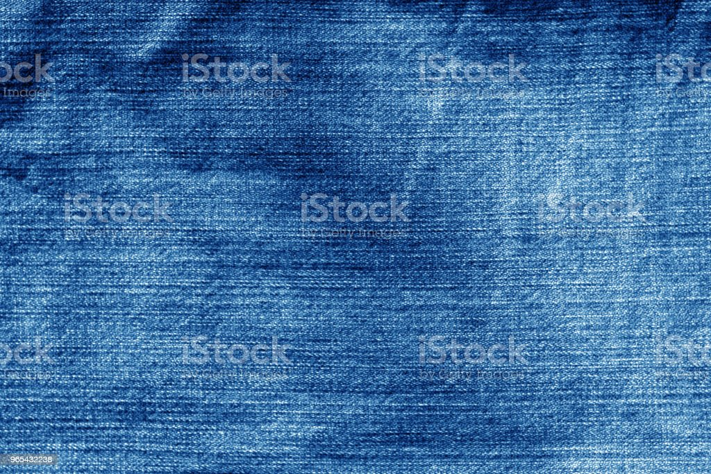 Jeans cloth pattern in navy blue color royalty-free stock photo