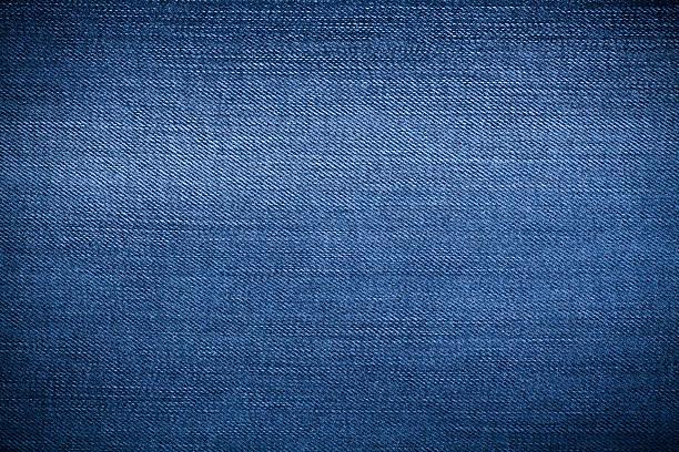 Jeans denim detail stock photo
