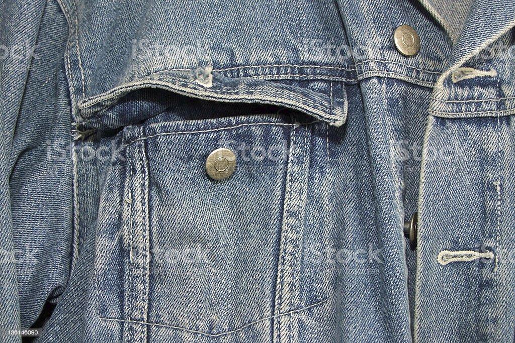 Jeans Jacket stock photo