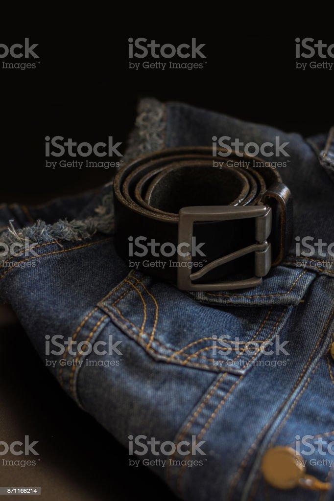 Jeans menswear stock photo