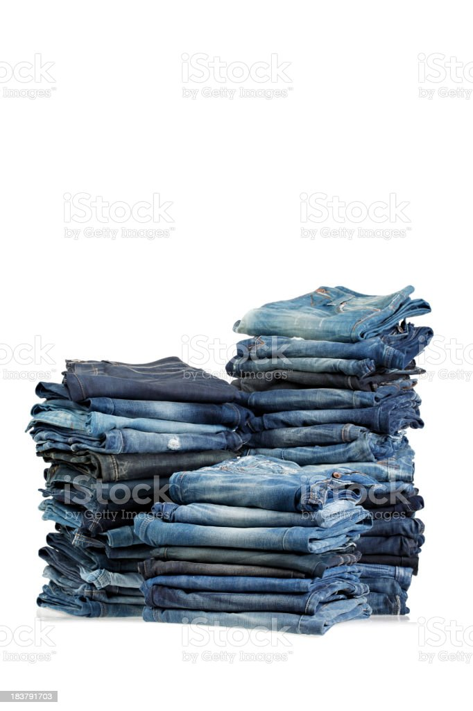 Jeans royalty-free stock photo
