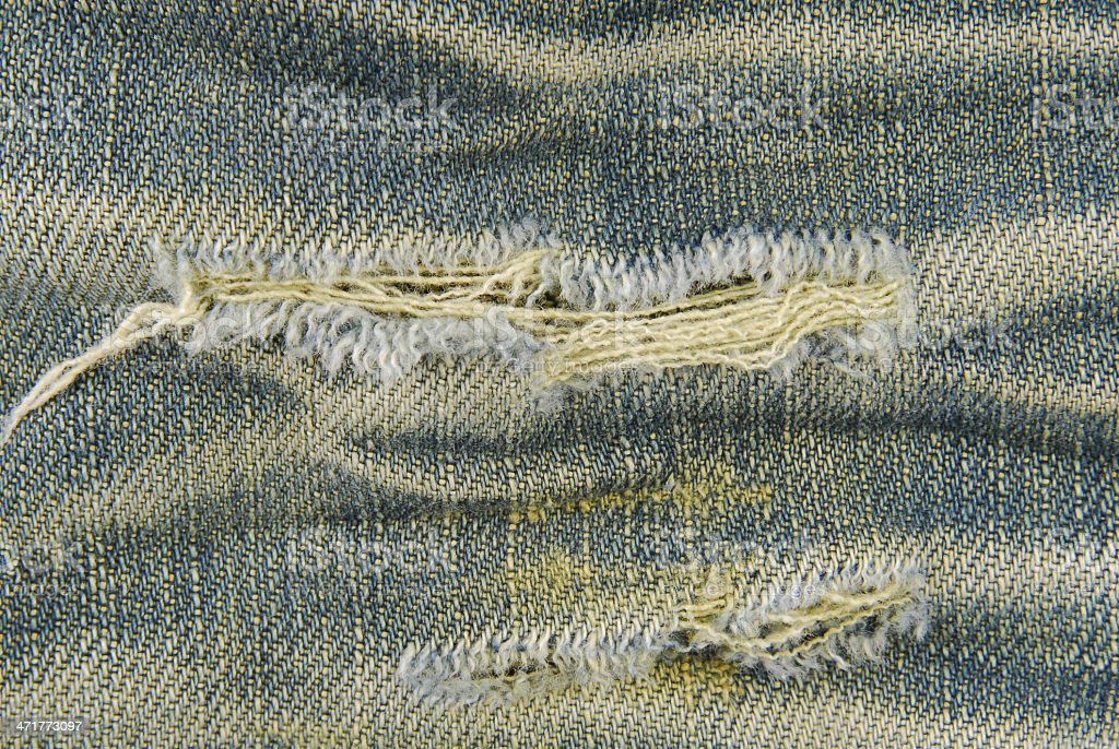 jeans ripped texture royalty-free stock photo