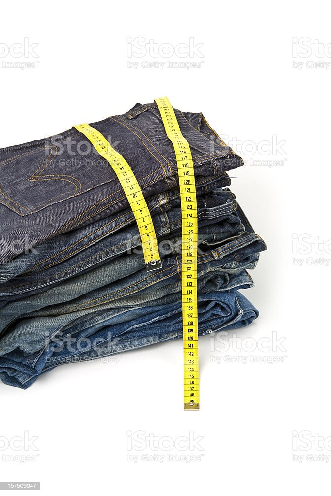 Jeans Series royalty-free stock photo