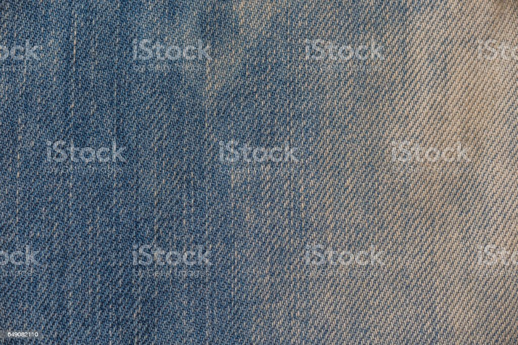 Jeans texture. Denim fabric background stock photo