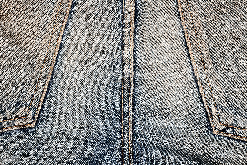 Jeans texture royalty-free stock photo