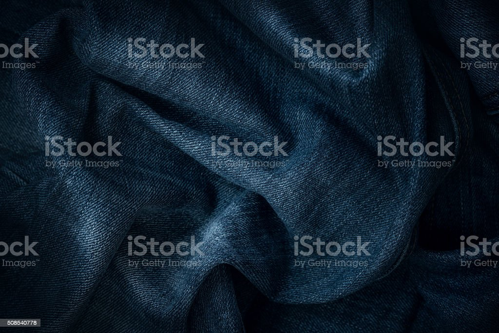Jeans texture stock photo