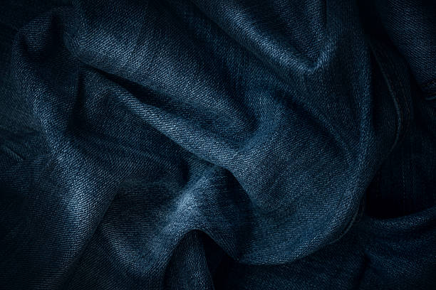 jeans texture - textile stock photos and pictures