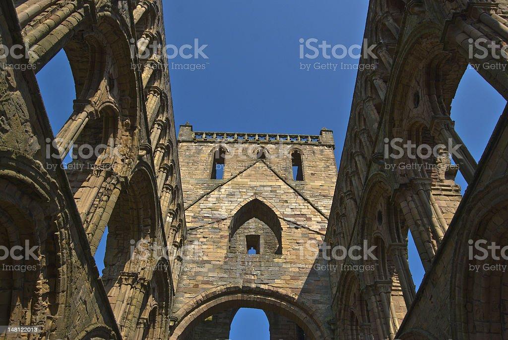 Jedburgh Abbey stock photo