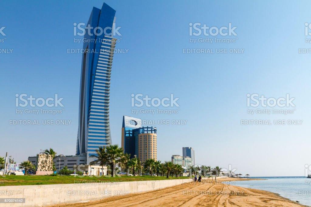 Jeddah Corniche and beach – zdjęcie