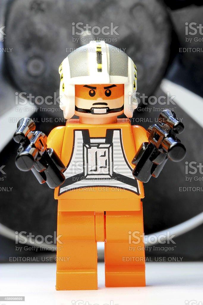 Jedi in the Machine stock photo
