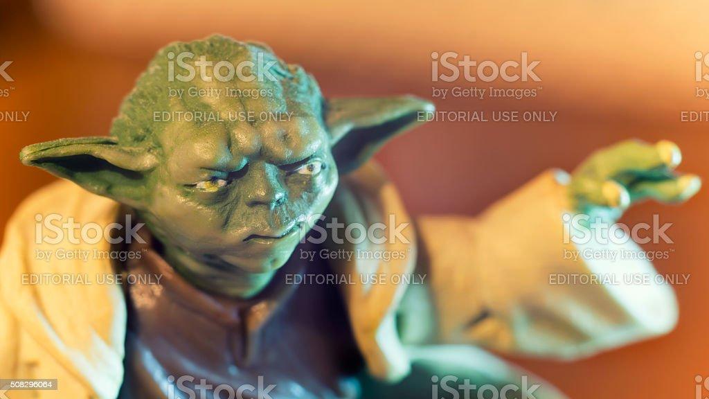 Jedi Master Yoda stock photo