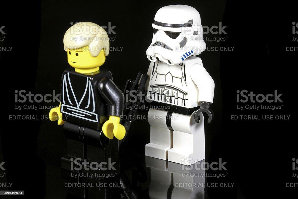 Jedi Prisoner stock photo