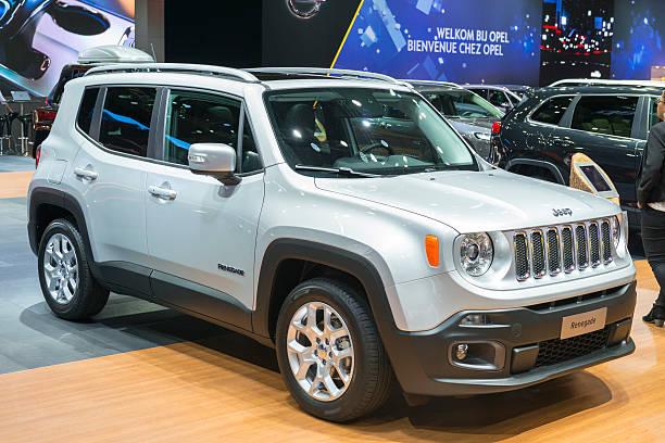 Jeep Renegade SUV crossover - foto stock