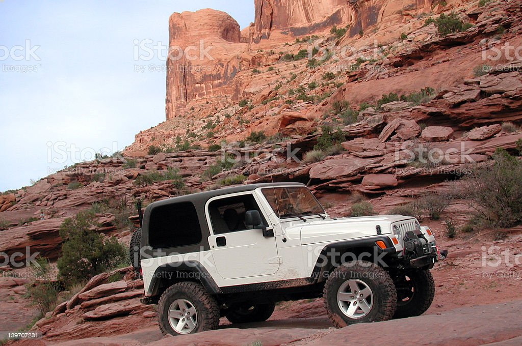 Jeep Rubicon Offroad II stock photo