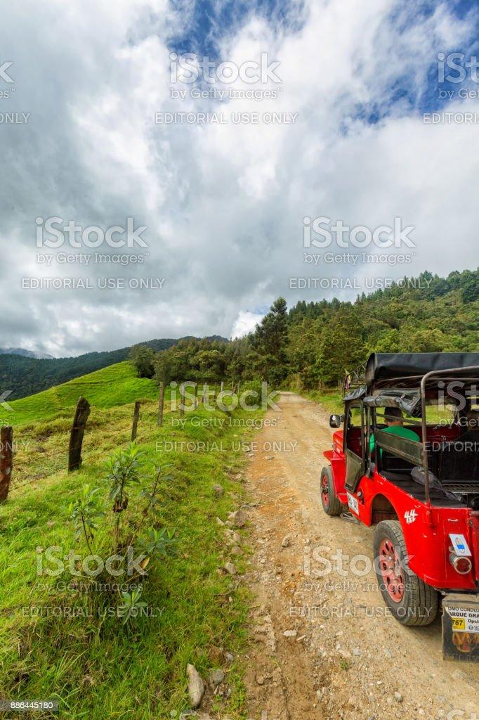 Jeep Trip stock photo