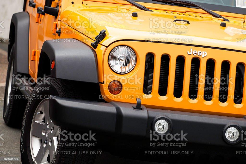 Jeep Wrangler royalty-free stock photo