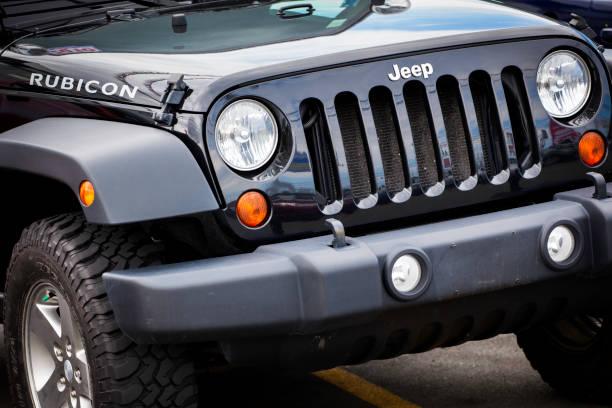 Jeep Wrangler Rubicon stock photo