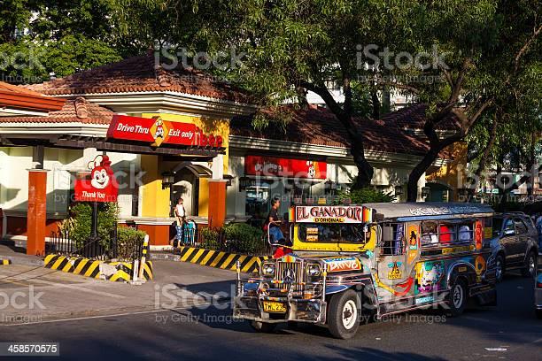 Jeepney at jollibee manila philippines picture id458570575?b=1&k=6&m=458570575&s=612x612&h=fqexes29kykcvvweyiqwtmqdwm32ixsnxg z3b9jgk4=