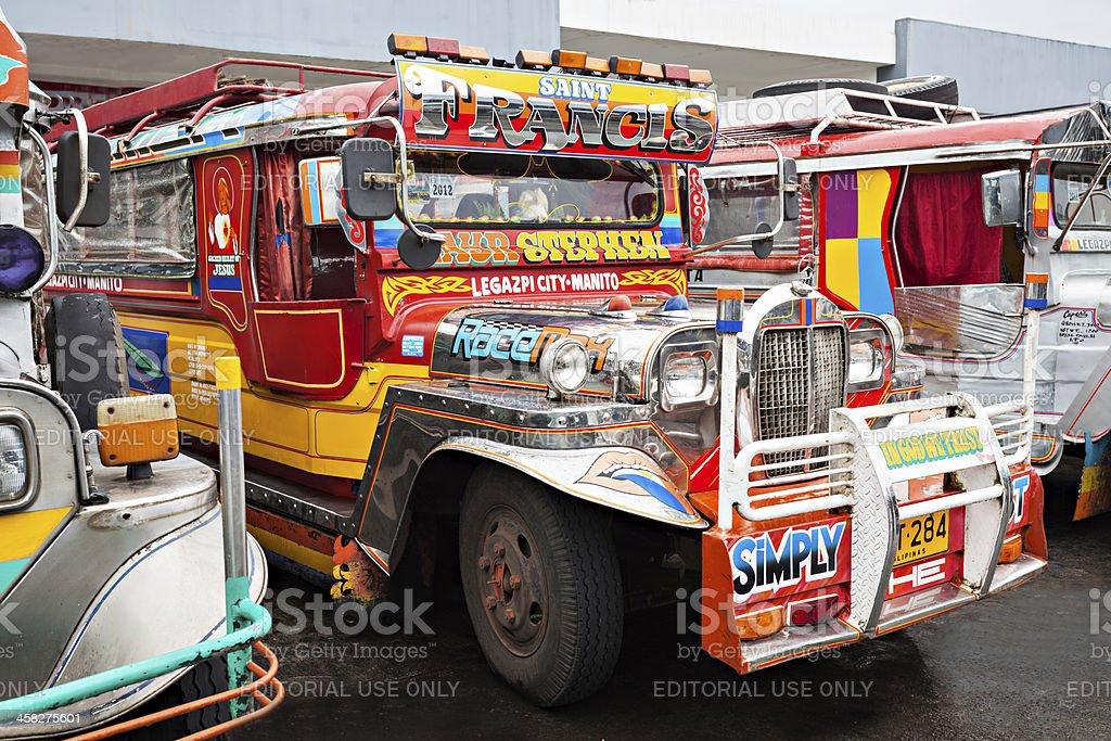 Jeepney royalty-free stock photo