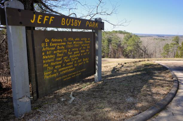 Jeff Busby Park sign