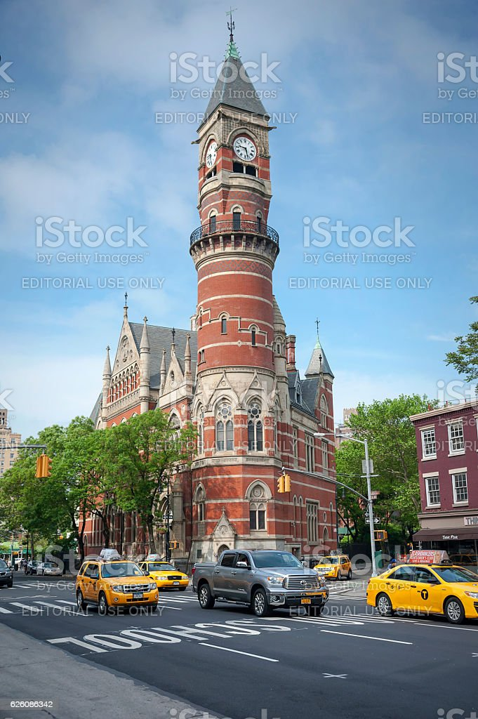 Jefferson Market Library New York City stock photo