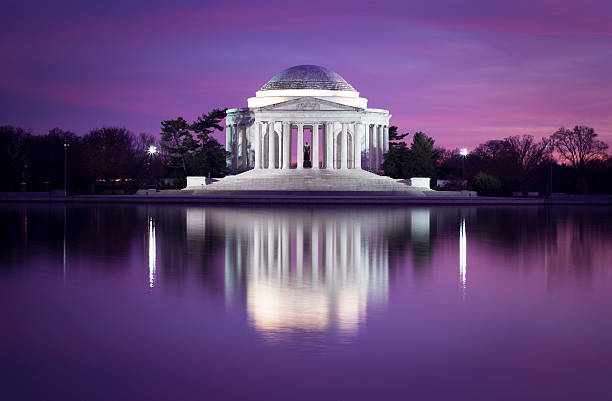 jefferson memorial, dc - monument bildbanksfoton och bilder