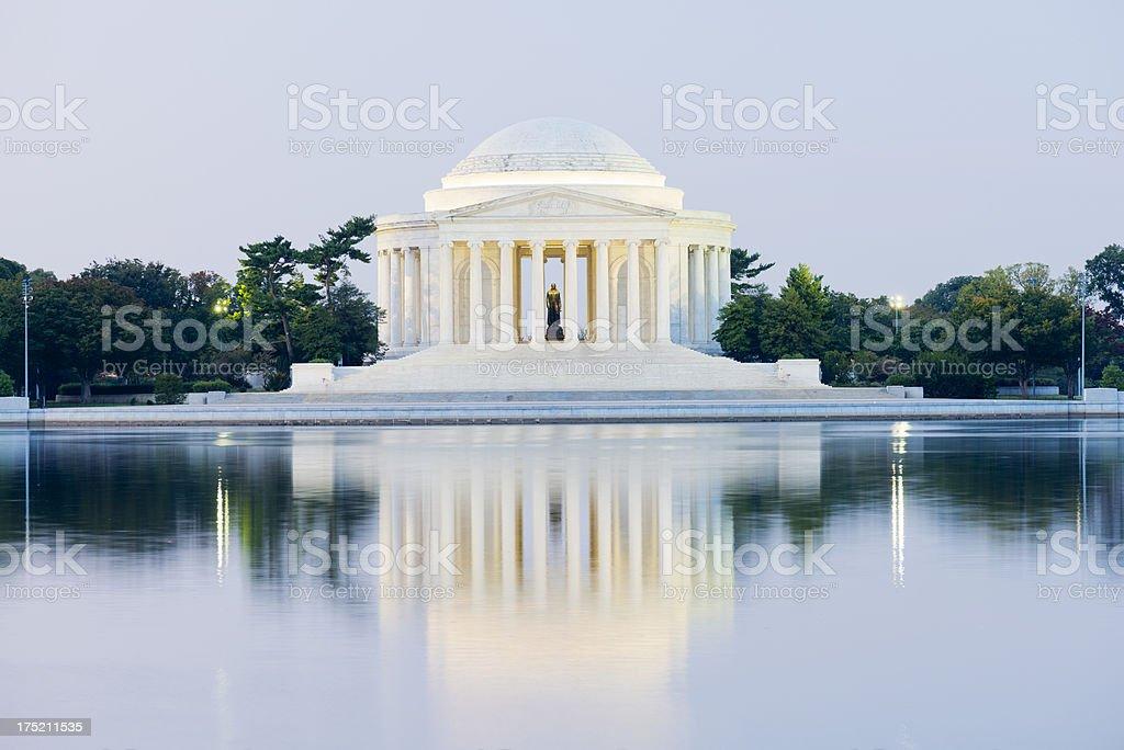 Jefferson Memorial in Washington DC USA royalty-free stock photo