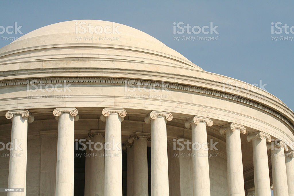 Jefferson Memorial royalty-free stock photo