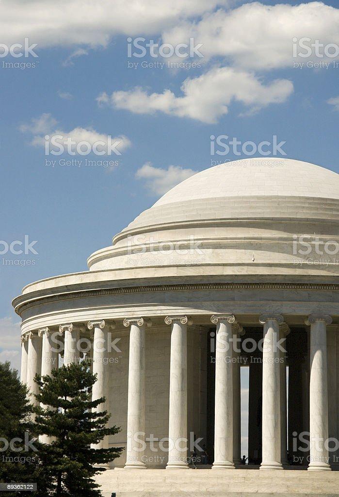 Jefferson Memorial foto stock royalty-free