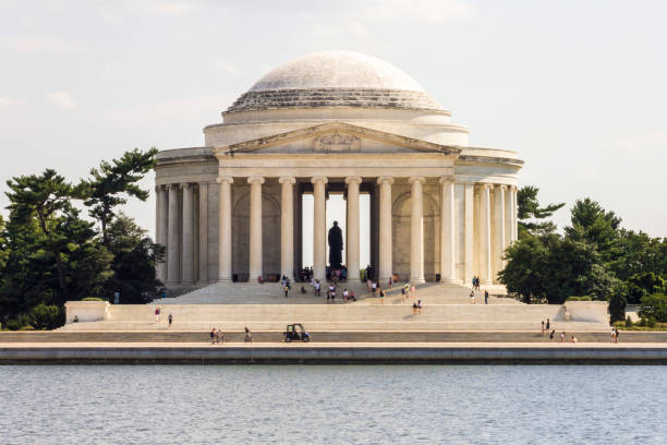 jefferson memorial, washington, d.c. - monument bildbanksfoton och bilder