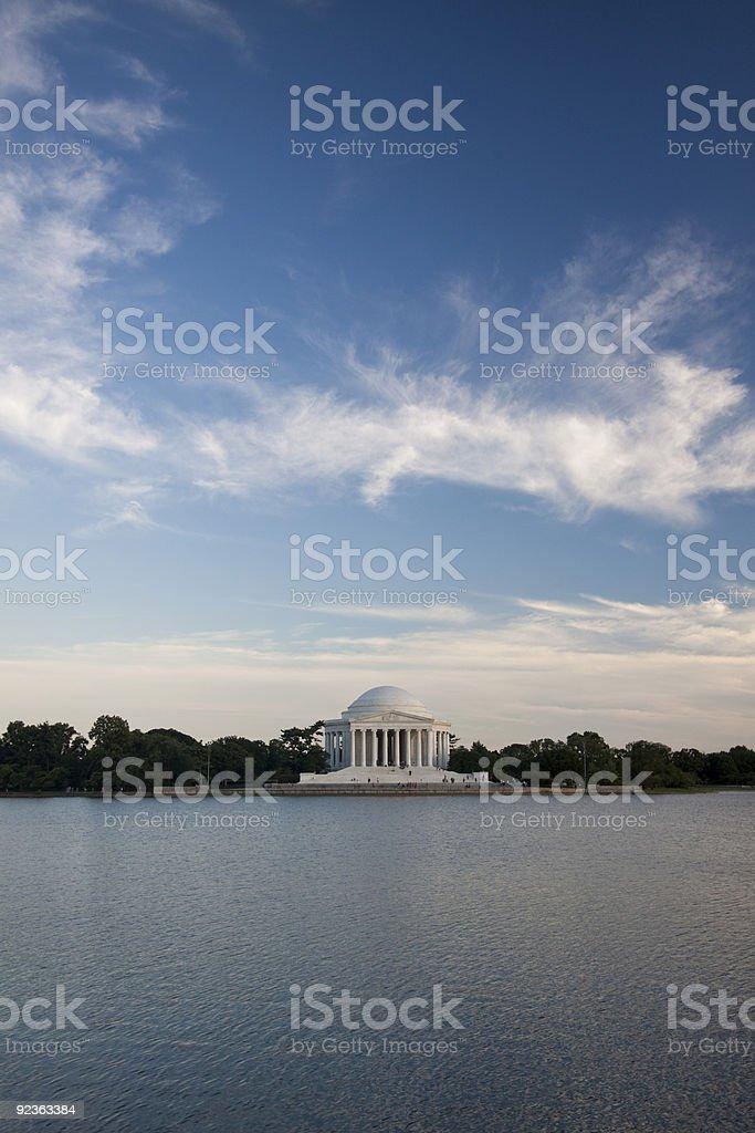 Jefferson Memorial, Washington D.C. royalty-free stock photo