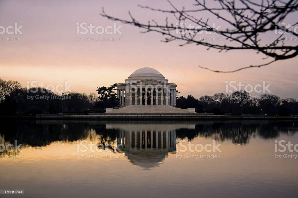 Jefferson Monument royalty-free stock photo